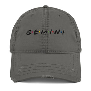 Gemini Friends Distressed Dad Hat