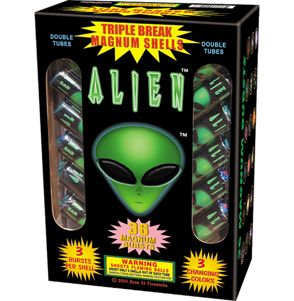 Alien Triple Break Magnum Shell Case