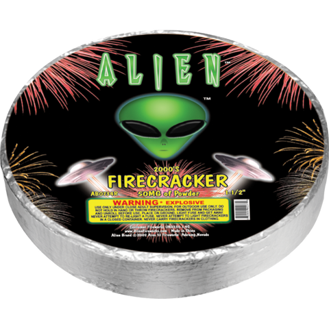 Alien Premium Firecracker Roll 2000's Case