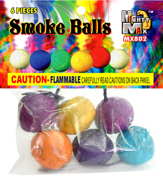 Color Smoke Balls Breakdown