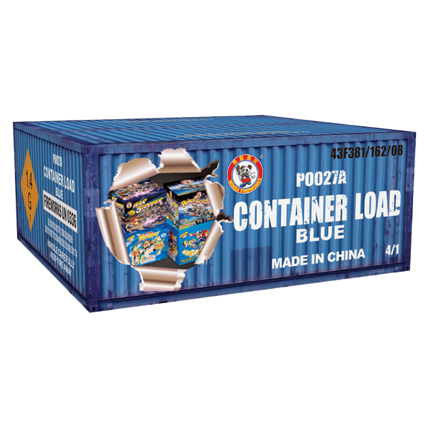Container Load-Blue Case