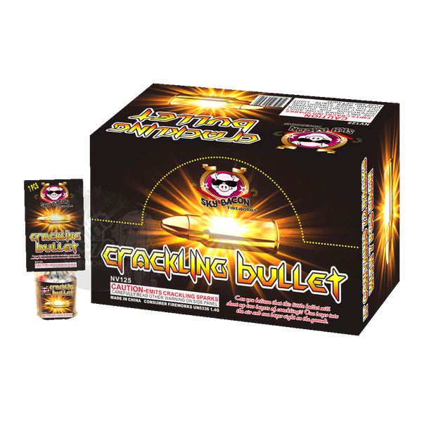 Crackling Bullet Case