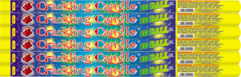 Crackling Candle 10 Ball