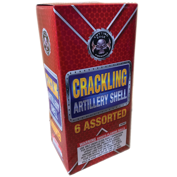 Cutting Edge Crackling Artillery Shell Case