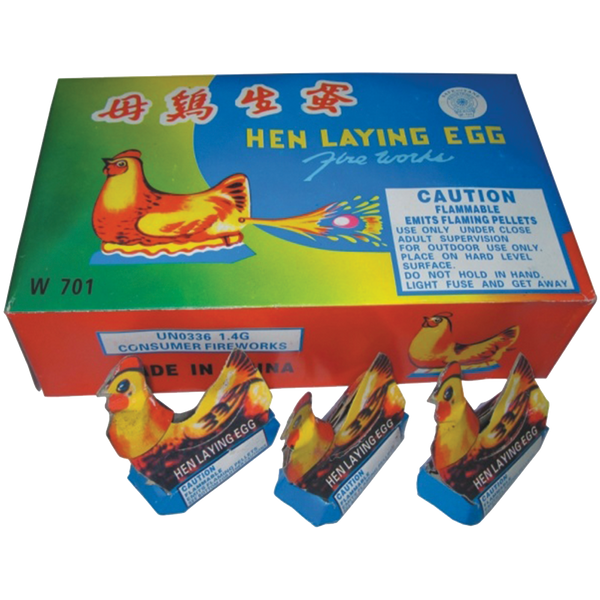 Hen Laying Egg Case
