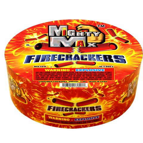 Mighty Max Firecrackers 1000 Roll
