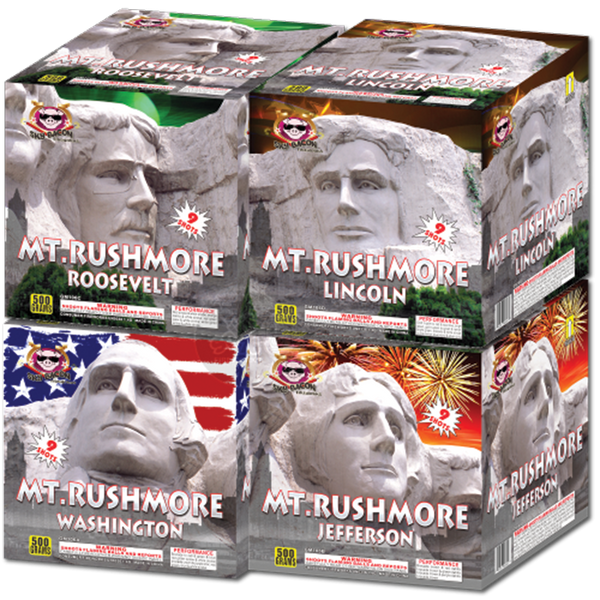 Mt. Rushmore - Assortment Case