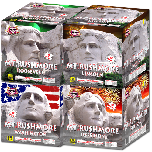 Mt. Rushmore - Individuals