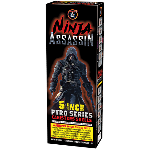"Ninja Assassin Shells 5"" Case"
