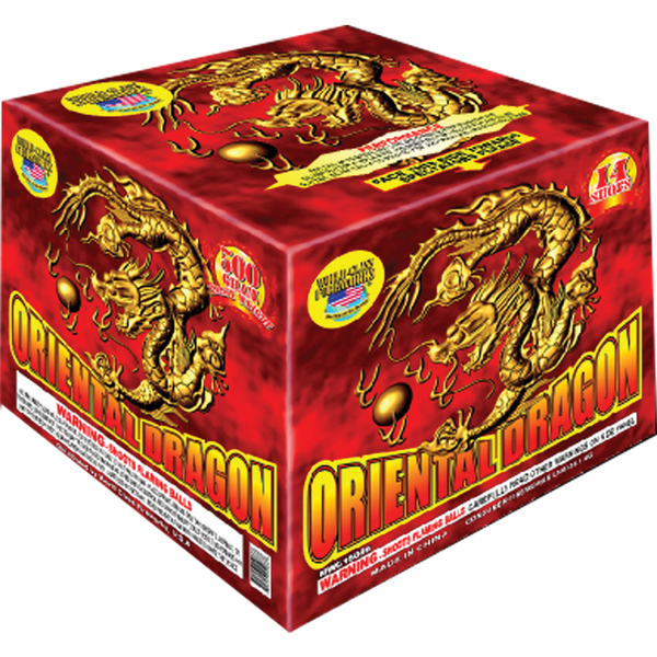 Oriental Dragon Case