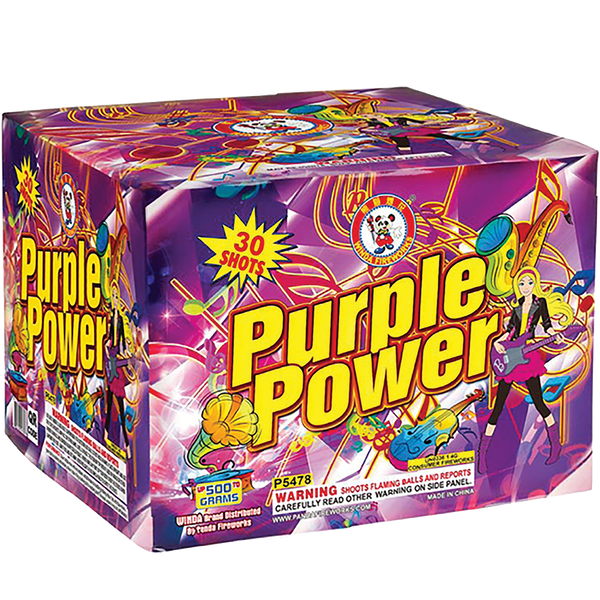 Purple Power Case
