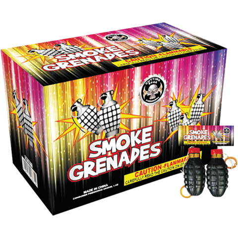 Cutting Edge Smoke Grenades