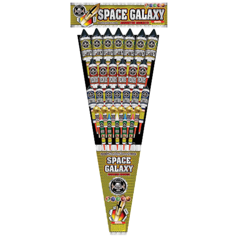 Space Galaxy Rocket Assortment Case