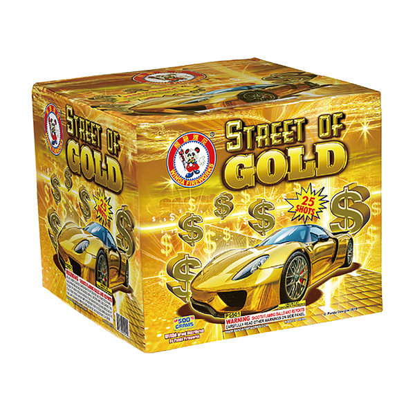 Street of Gold 500 Grams 25 Shots