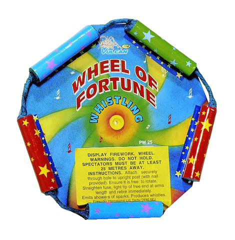 Wheel of Fortune Whistling Wheels