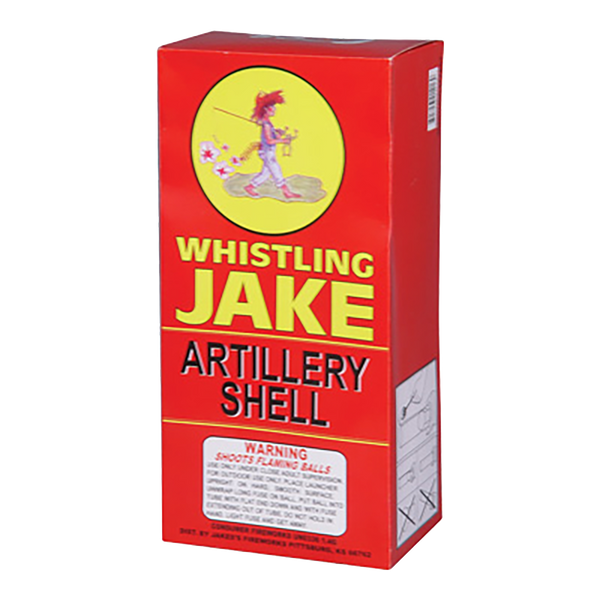 Whistling Jake Artillery Shell Case