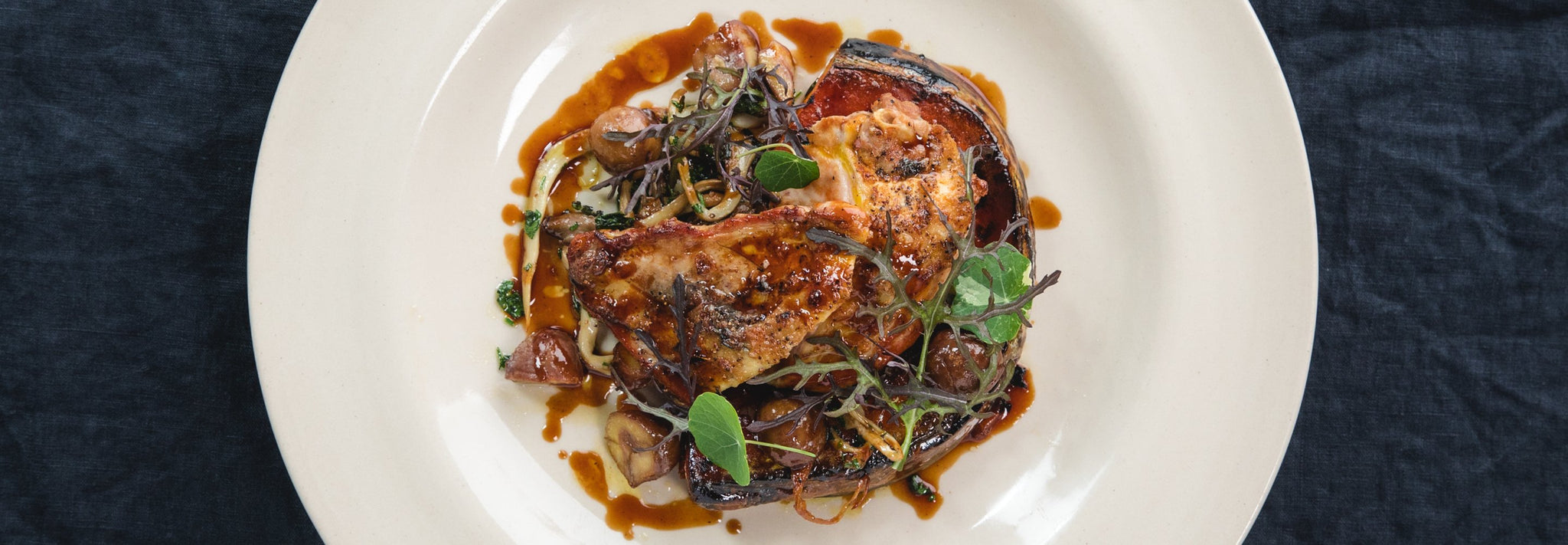 James Golding's Pheasant Breast with Oyster Mushrooms