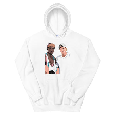 White Men Can't Jump Men and Women Unisex Hoodie - 90zTrip