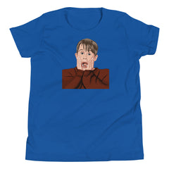Home Alone Youth Short Sleeve T-Shirt - 90zTrip