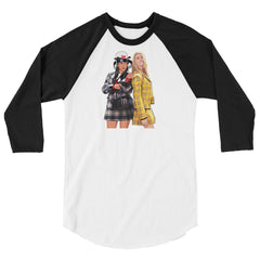 Clueless 3/4 sleeve raglan shirt - 90zTrip