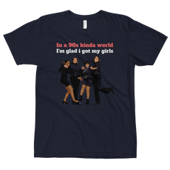 Living Single Men and Women Unisex T-Shirt - 90zTrip