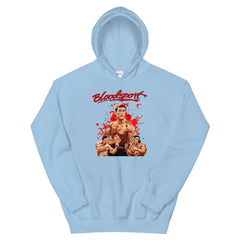Bloodsport  Men and Women Unisex Hoodie - 90zTrip