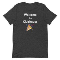 """WELCOME TO CLUBWAVES""Short-Sleeve Unisex T-Shirt - 90zTrip"