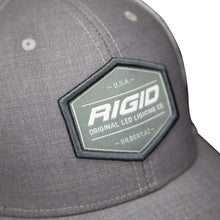 Load image into Gallery viewer, Custom Trucker Hat Grey/White RIGID Industries RIGID Industries