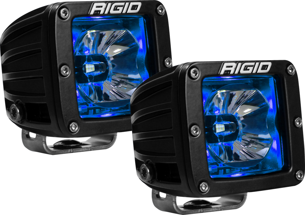 LED Pod with Blue Backlight Radiance RIGID Industries