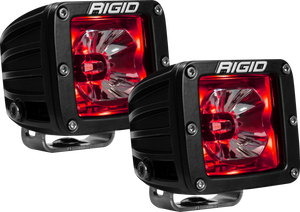 LED Pod with Red Backlight Radiance RIGID Industries