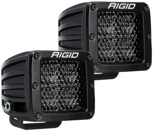 Spot Diffused Midnight Surface Mount Pair D-Series Pro RIGID Industries