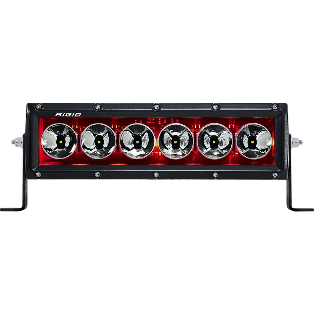 10 Inch Red Backlight Radiance Plus RIGID Industries