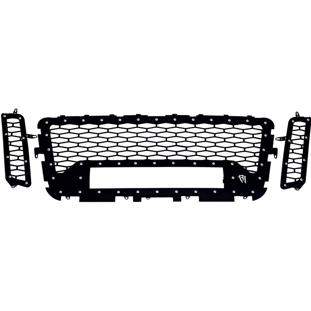 16-17 Nissan Titan Grille No Camera Fits One 20 Inch E-Series Pro RIGID Industries