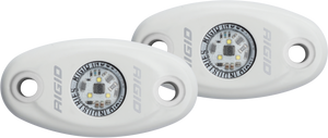 Low Power White Housing Cool White Pair A-Series RIGID Industries