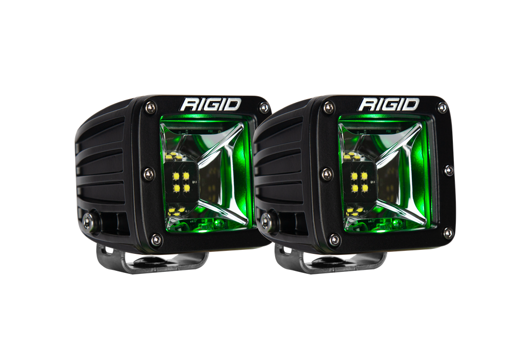 Scene Green Backlight Surface Mount Pair Radiance RIGID Industries