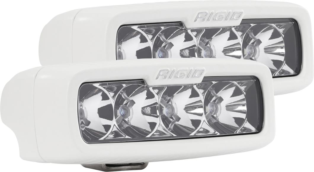 Flood Surface Mount White Housing Pair SR-Q Pro RIGID Industries