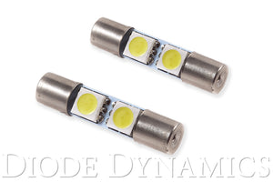 28mm SMF2 LED Bulb Green Pair Diode Dynamics