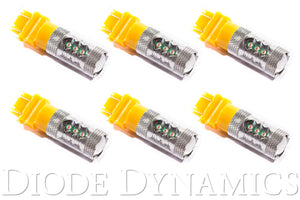 3157 LED Bulb XP80 LED Amber Set of 6 Diode Dynamics