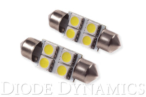 36mm SMF4 LED Bulb Blue Pair Diode Dynamics