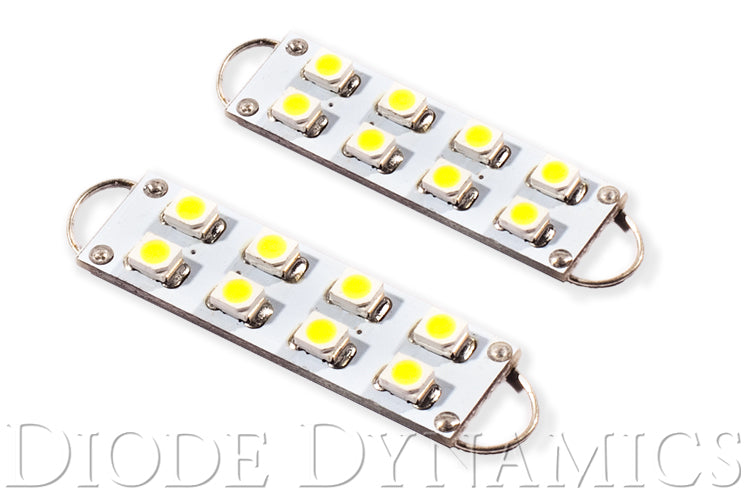 44mm SML8 LED Bulb Cool White Pair Diode Dynamics