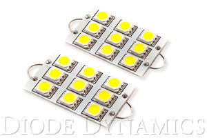 44mm SML9 LED Bulb Cool White Pair Diode Dynamics