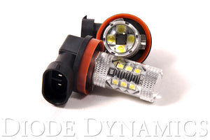 H8 XP80 LED Cool White Pair Diode Dynamics