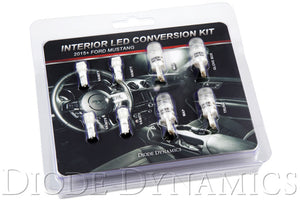 Mustang Interior Light Kit 15-17 Mustang Stage 1 Cool White Diode Dynamics