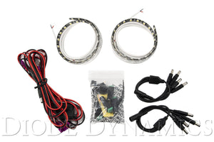 Red Standard Grille LED Kit Diode Dynamics