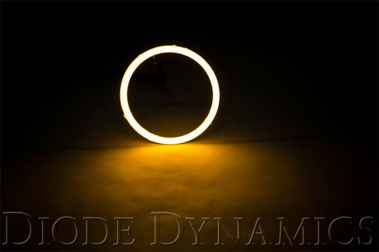 Halo Lights LED 120mm Amber Pair Diode Dynamics