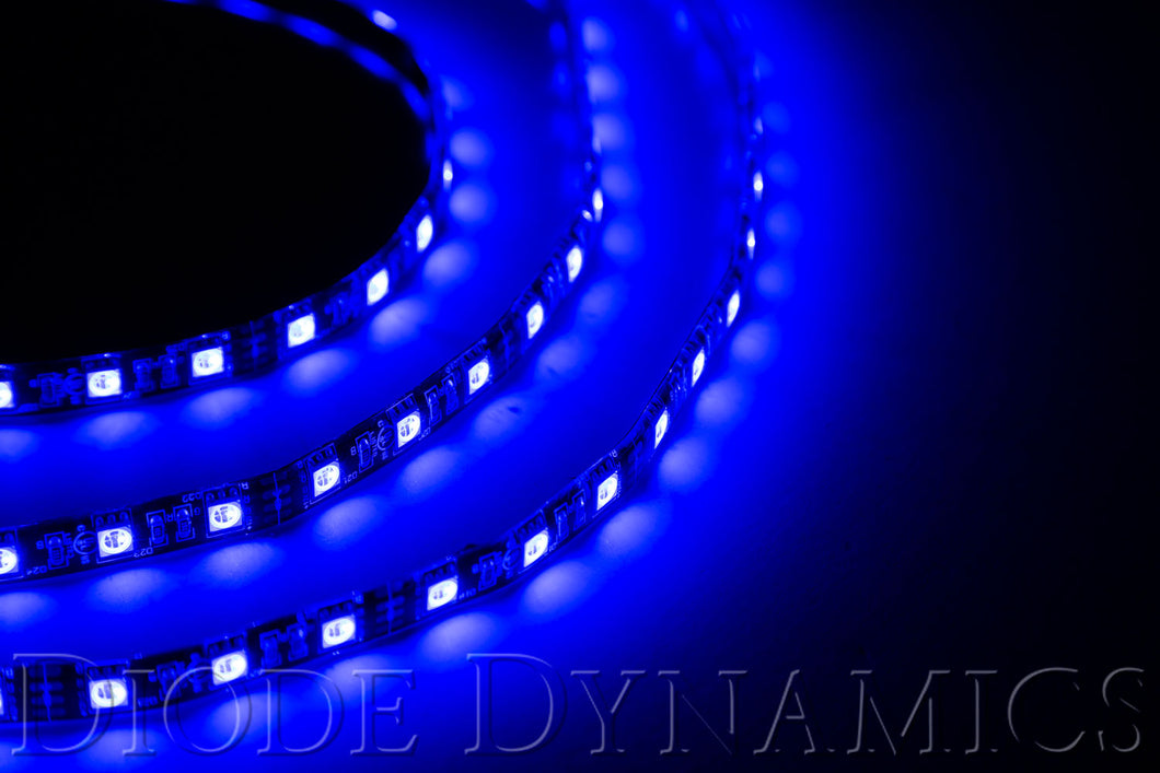 LED Strip Lights Blue 50cm Strip SMD30 WP Diode Dynamics