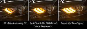 2018-2019 Ford Mustang Switchback DRL LED Boards EU Diode Dynamics