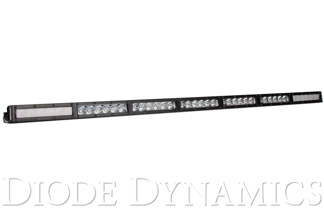 42 Inch LED Light Bar  Single Row Straight Clear Combo Each Stage Series Diode Dynamics