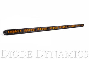 42 Inch LED Light Bar  Single Row Straight Amber Driving Each Stage Series Diode Dynamics