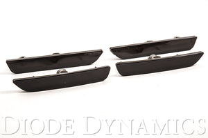 Mustang 2010 LED Sidemarkers Smoked Set Diode Dynamics